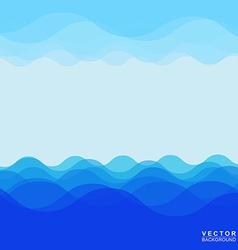 Sea wave 005 vector image