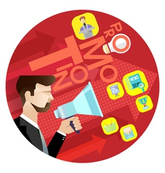 Business Promotion Concept vector image