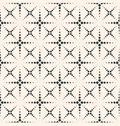 Seamless pattern with halftone dotted lines vector