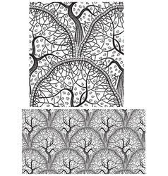 wood pattern background vector image