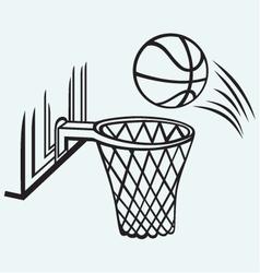 Basketball board vector image vector image