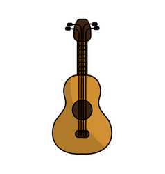 acoustic guitar instrument to play vector image