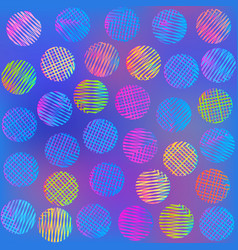 bright circle pattern vector image