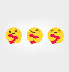 Facebook Emoticons Vector Images Over 240