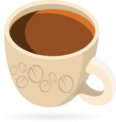 coffeee1 vector image
