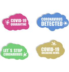 Coronavirus icon covid-19 icon coronavirus 2019 vector