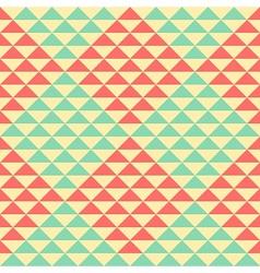 Retro rhombus pattern vector image