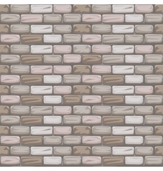 seamless pattern stone Brick grey vector image