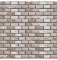 Seamless pattern stone brick grey vector