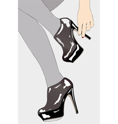 Small elements of female sensuality vector