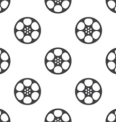video film seamless pattern vector image