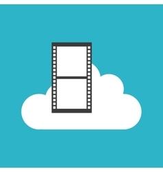 video marketing set flat icons vector image