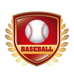 baseball game vector image