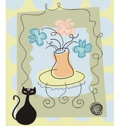 Still Life Background vector image vector image