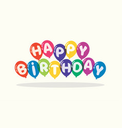 Happy birthday background for greeting cards vector