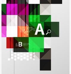 Modern geometrical square banner minimalistic vector