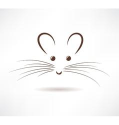 Rat icon vector image