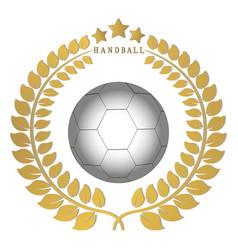 The theme handball vector