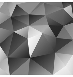 Triangular black background vector image