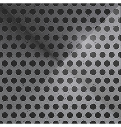 Abstract Dotted Steel Background vector image