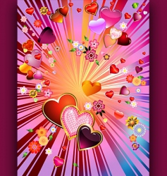 valentinexplosion vector image vector image