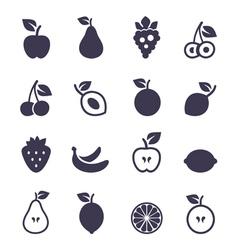 Icon fruit2 vector image vector image