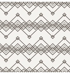 seamless pattern of interwoven lines vector image