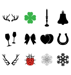 Set of icons 2 vector image vector image