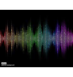 sound waves Music Digital Equalizer vector image