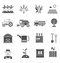 Agriculture Icons Set vector