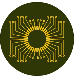 Circuit board element vector