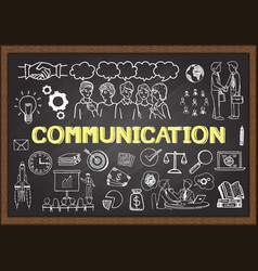communication vector image