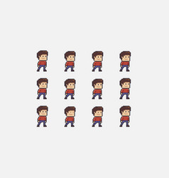 Idle character animation vector