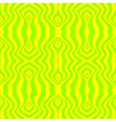 seamless abstract yellow pattern vector image vector image