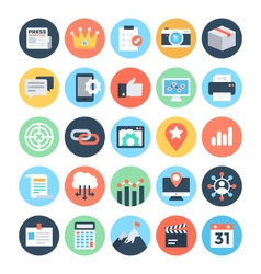 SEO and Marketing Icons 5 vector