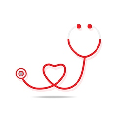 stethoscope icon vector image