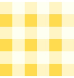 Yellow White Diamond Chessboard Background vector image vector image