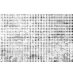 grunge halftone dots background vector image
