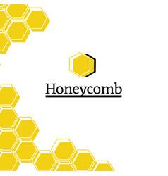 Honey shop flat vector