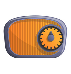 old radio icon cartoon style vector image
