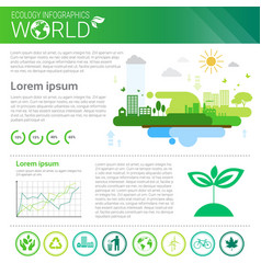 World environmental protection green energy vector