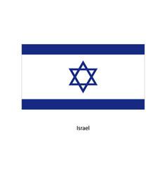 israel flag israel flag vector image