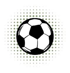 Soccer comics icon vector image vector image