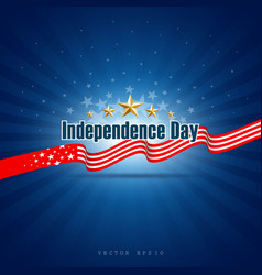 independence day background design vector image vector image