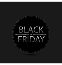 Black Friday card vector image