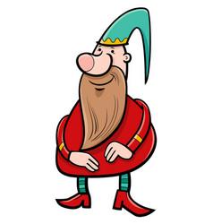 Dwarf fantasy character vector