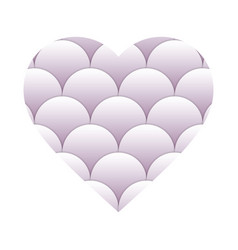 heart valentine icon vector image