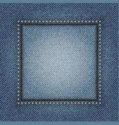 Jeans frame vector