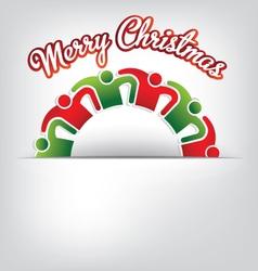 Merry Christmas Family vector