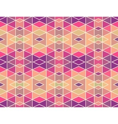 Mosaic pattern background vector image